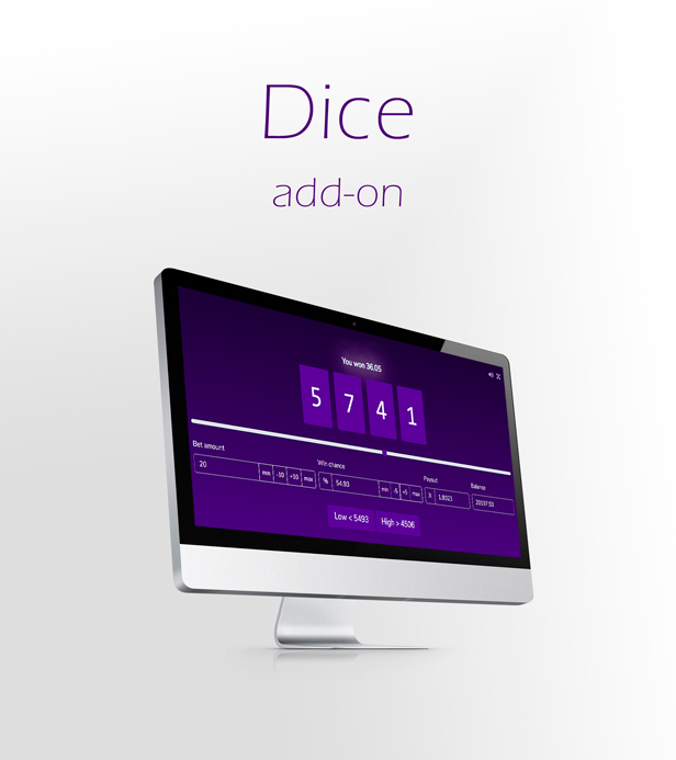 Crypto Casino - Dice