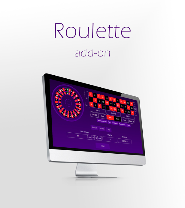 European Roulette Game Add-on for Crypto Casino Download