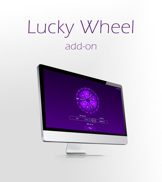 Crypto Casino - Lucky Wheel